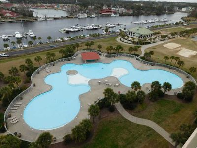 Photo for YACHT CLUB VILLAS 3BR WITH AMAZING VIEWS! LARGEST POOL IN SC!
