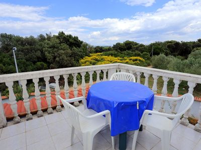 Photo for Two bedroom apartment with terrace Drače (Pelješac)