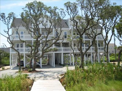 Photo for Beautiful Soundfront Duplex with Private Dock.