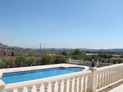 Photo for Beautiful Villa with stunning views and private pool