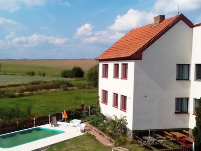 Photo for Spacious holiday home with 7 bedrooms and pool in South Bohemia