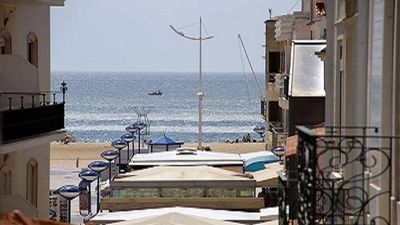 Photo for View of the sea, in the center of the picturesque fishing village