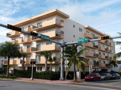 Photo for South Beach Condo, Collins Avenue and 12th Stree, The Heart of South Beach