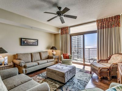 Photo for Recently Updated! Lovely 14th Floor Oceanfront Condo in North Beach Plantation