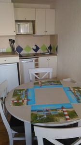 Photo for furnished studio 2 cabin 4 people with parking - golden triangle