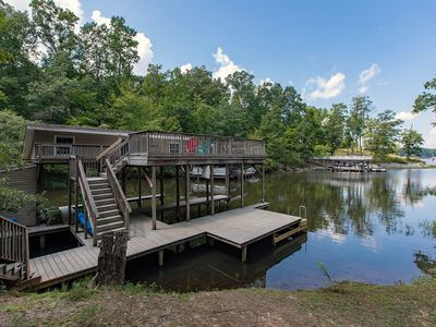 Photo for Peaceful Waterfront Retreat!!! Late July week available!!