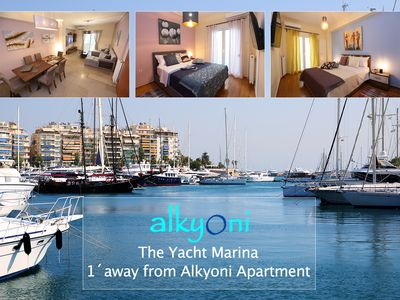 Photo for Alkyoni apartment by the sea in Piraeus