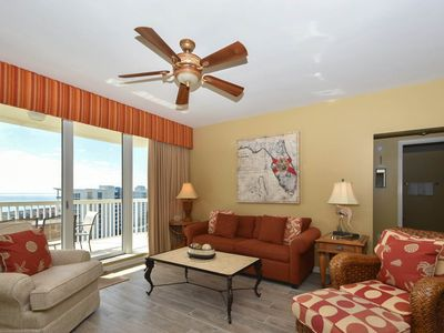 Photo for Beachview Condo, St. Lucia 1204. Tons of Resort Amenities, Free Beach Service