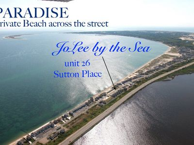 Photo for JoLee by the Sea is truly a slice of paradise!