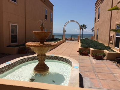 Photo for Ocean View Condo in Gated Community**Quiet**Ocean Front Jacuzzi**Time to Relax!!