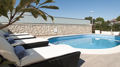 Photo for Villa Marlu 4* with pool for 8 guests, Vir island