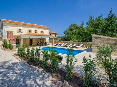 Photo for Completely new villa with pool, luxury equipped, barbecue, in a quiet location