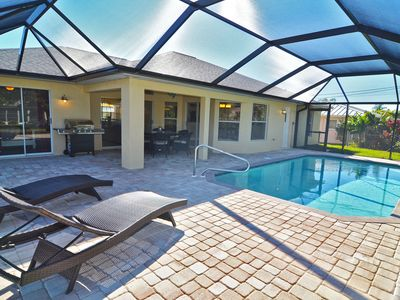 Photo for Villa Blue Pearl: Modern vacation home with heated pool - NEW VIDEO TOUR!