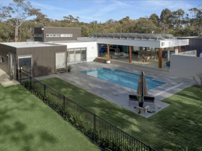 Photo for The Glasshouse - Amazing pool in forest setting!