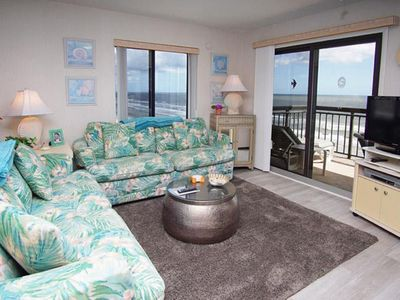 Photo for Buena Vista 901, Spacious 3 BR OF Condo with Beautiful Ocean Front Views ,Outdoor Swimming Pool and Kiddie Pool