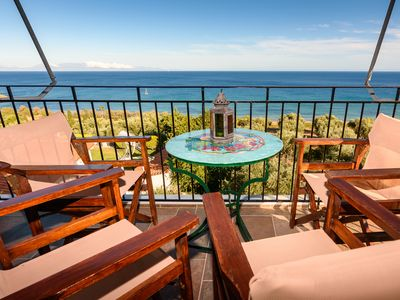 Photo for Eros home, perfect location, panoramic sea view