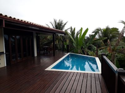 Photo for House with pool and sea view in condominium of high standard for up to 10 people.