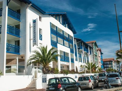 Photo for Building 1 km from the center of Hendaye with Internet, Pool, Lift, Terrace (645502)