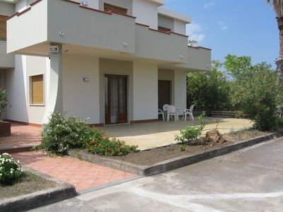 Photo for Ground-floor apartment, 30 meters from the sea, in a quiet neighborhood