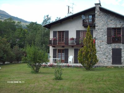 Photo for Garden Apartment ground between Serre Chevalier and the Parc des Ecrins