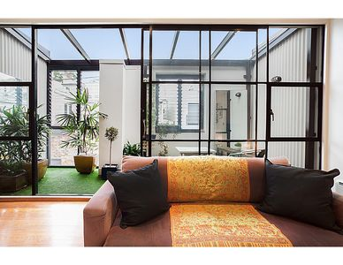 Photo for Designer unit in cool area close to city, airport