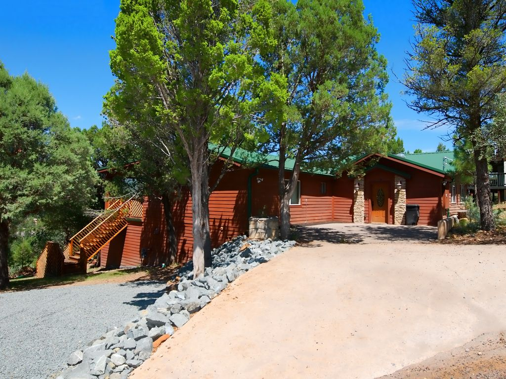 Great home for large families come share y vrbo for 6 bedroom cabins in ruidoso nm