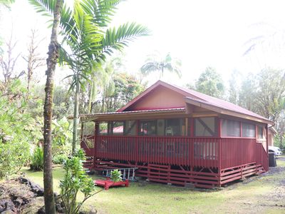 Photo for COZY HIDEAWAY IN THE OHIA RAINFOREST LOCATED BELOW VOLCANO NATIONAL PARK