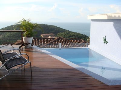 Photo for Stunning views to the sea with 4 suites.