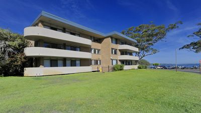 Photo for Right on the sands at Little Beach and walk to the heart of Nelson Bay