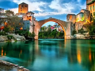 Photo for Apartment in the center of Mostar with Internet, Air conditioning, Lift, Terrace (669392)