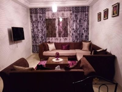 Photo for For rent s2 100m2 furnished soukra residence zayatine near monoprix