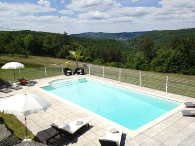 Photo for Mansion House in Dordogne with private pool