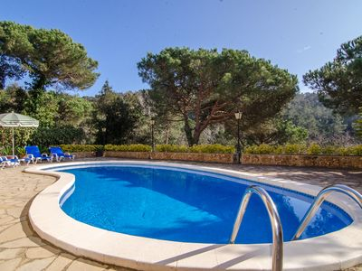 Photo for Club Villamar - Beautiful child friendly 3-bedroom villa with private swimming pool and sea views...