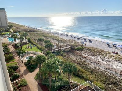 Photo for NEW 2020 Remodel! 2 Bedroom beach front. Sleeps 9 #OurHappyPlace634