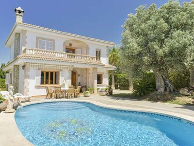 """Photo for """"PALACETE"""" Villa 10 pax villa in Bahía Azul. Sea views and the Bay of Palma. BBQ Private pool.  -108684- - Free Wifi"""
