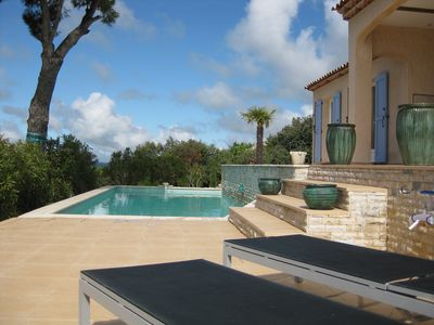 Photo for Provençal Mas with exceptional views and pool