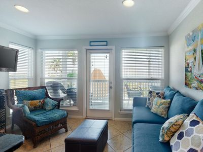 Photo for NEW LISTING! Delightful condo w/ocean views, shared pool & hot tub!
