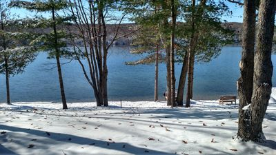 Photo for Log Cottage on Blue Lake-Winter has arrived! The snowmobile trails are now open❄