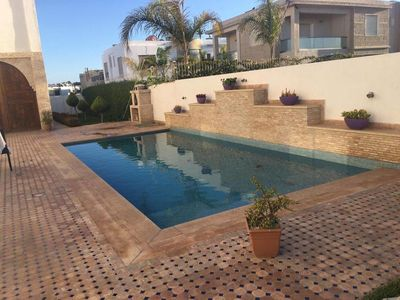 Photo for Beach side 3 Bedrooms Villa with Pool Ref: N1050