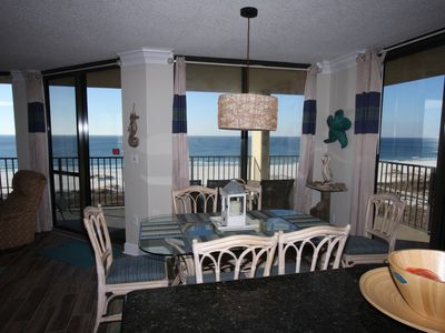 Photo for WOW Corner BEACHFRONT view, JULY avail,prime locale,huge beach, 5 * amenities!!!