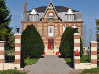 Photo for Charming Manor House in Normandy (up to 30 people)