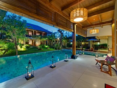 Photo for Best Family Spacious Villa 9BR by the beach Seminyak