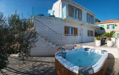 Photo for **** Luxury Villa with outdoor Jacuzzi ****
