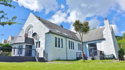 Photo for Luxury converted church sleeps 12 open sea views