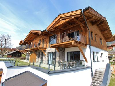 Photo for Atmospheric penthouse near Kaprun with 3 bedrooms and wellness