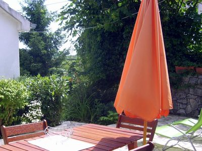 Photo for Two bedroom apartment with terrace and sea view Veprinac (Opatija)