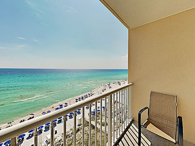 Photo for Gulf-Front Gem at Majestic Beach Resort w/ Multiple Pools & Movie Theater