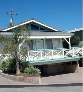 The front of the Beach Bungalow.