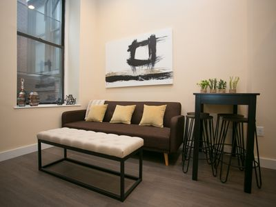 Photo for Modern 1BR in Downtown Crossing by Sonder