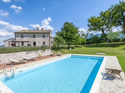 Photo for Ornate Mansion in Cagli with Hot Tub and Private Pool